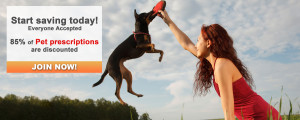 Start saving today at HealthCard4Free.com, where 85% of your Pet's prescriptions are discounted.